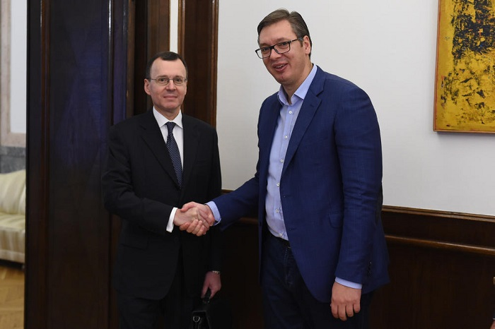 Deputy Director General of ROSATOM Nikolai Spasskiy had a meeting with President of the Republic of Serbia Aleksandar Vučić